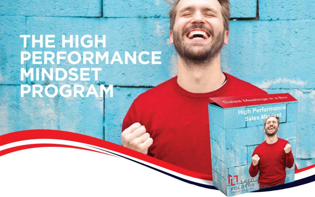 High Performance Sales Mindset