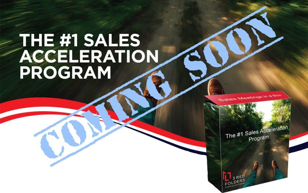 The #1 Sales Acceleration Program