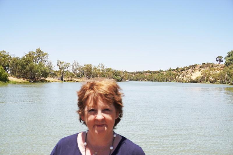 ernadette Punt on the Murray